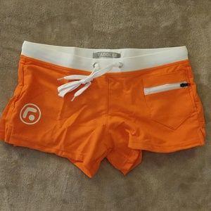Taddlee Swim Trunks Briefs Brazilian Orange M